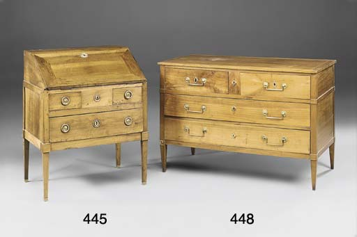A SMALL FRENCH PROVINCIAL WALN