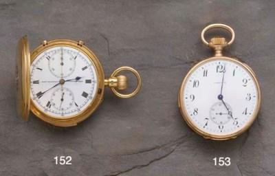 L. Le Roy: A fine gold minute