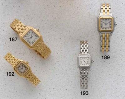 Cartier: A Bi-Colour quartz wr