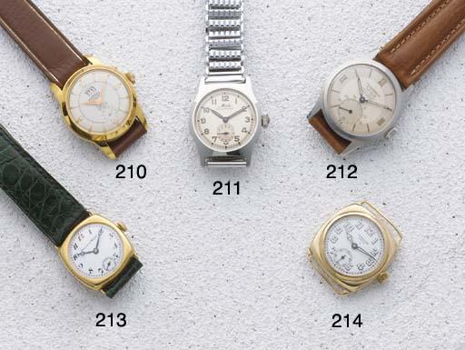 Fokker: A steel wristwatch