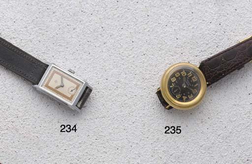 Zenith: A gold early wristwatc