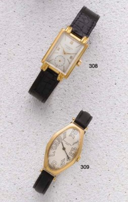 Patek Philippe: An 18ct Gold R