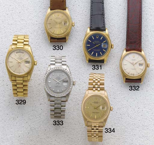 Rolex: An 18ct White Gold and