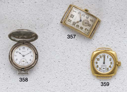 Rolex: An Early Silver Cased F
