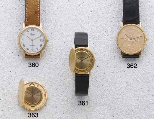 Piaget:A Gold Twenty Dollar Co