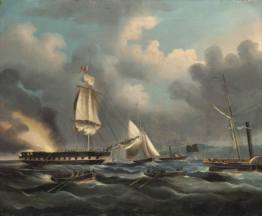 Attributed to Charles Henry Seaforth (c.1801-1853)