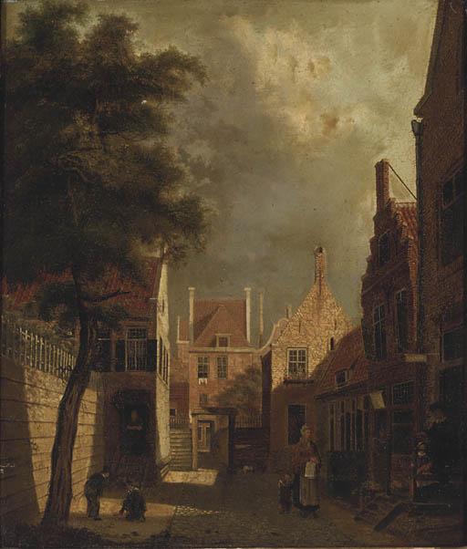 Circle of Cornelis Springer (D