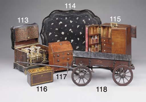 A George III mahogany apotheca