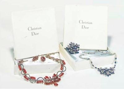 A Christian Dior suite, compri