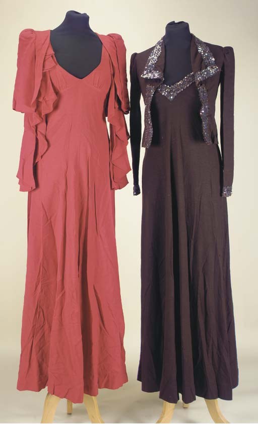 A collection of Biba costume,