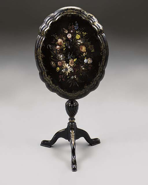 A VICTORIAN MOTHER-OF-PEARL IN