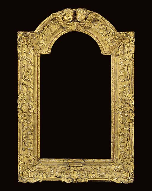 A Louis XIV carved and gilded