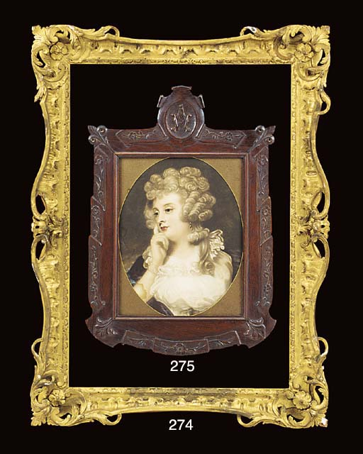 A Louis XV Carved and Gilded w