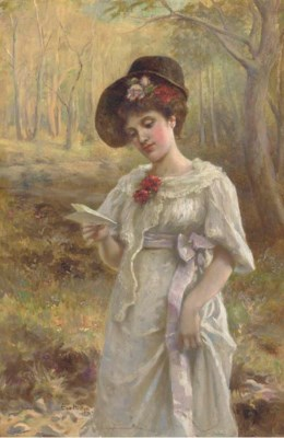 Miss Eva Hollyer (fl.1891-1898
