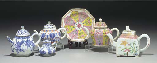A Chinese famille rose octagon