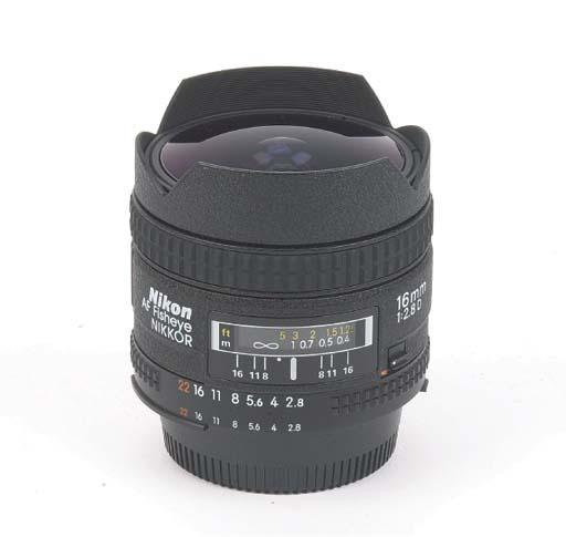 AF-Fisheye Nikkor 16mm. f/2.8D