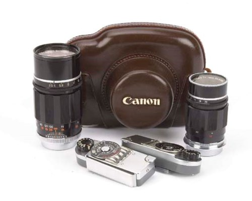 Canon lenses and accessories