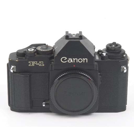 Canon F1 outfit