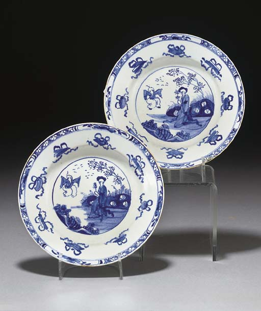 Two Bow plates