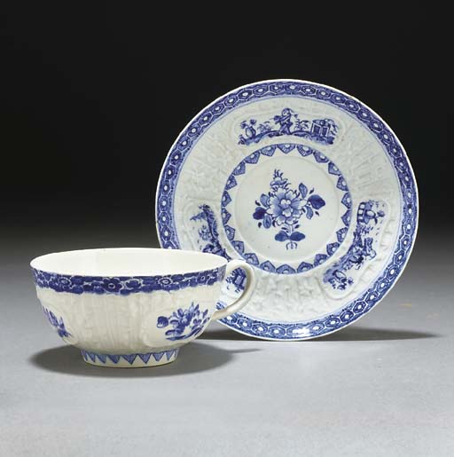 A large Bow blue and white cof