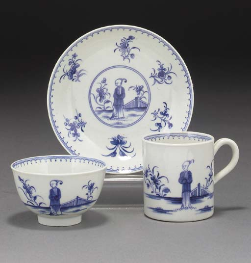 A Worcester blue and white tri