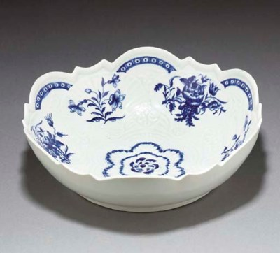 A Worcester blue and white she