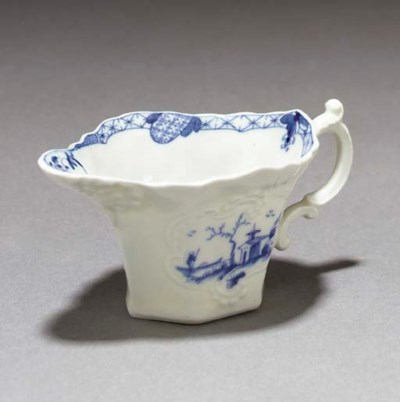 A Worcester blue and white fla