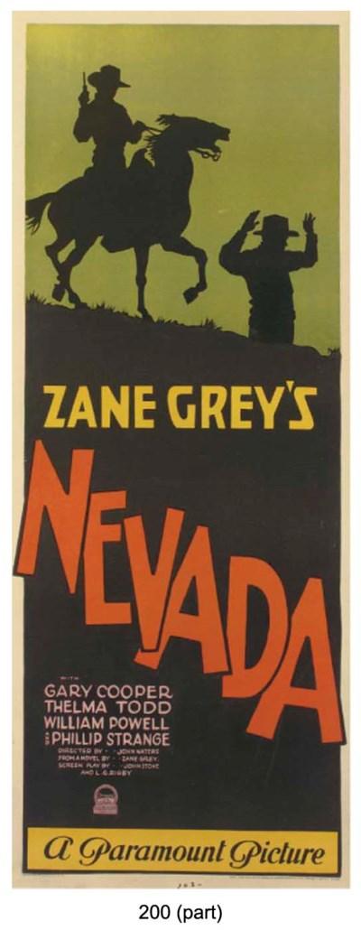 Gary Cooper And Zane Grey