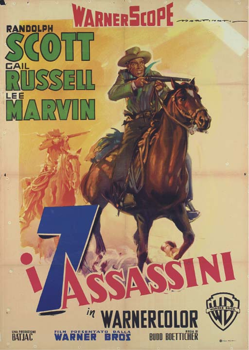 Seven Men From Now/I 7 Assassi