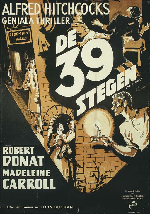 The 39 Steps/De 39 Stegen