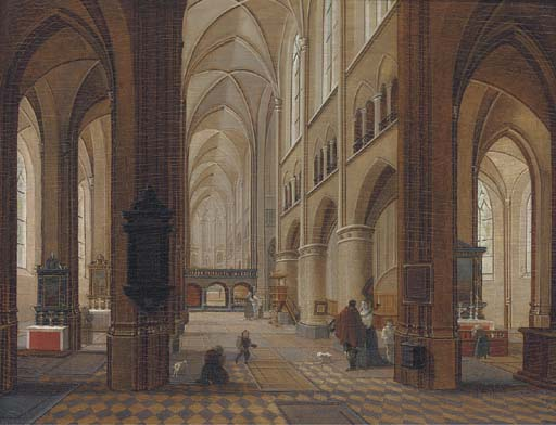 Follower of Pieter Neeffs II