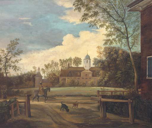 Manner of Jan van der Heyden,