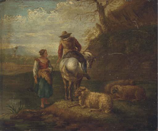 Follower of Dirck van Bergen