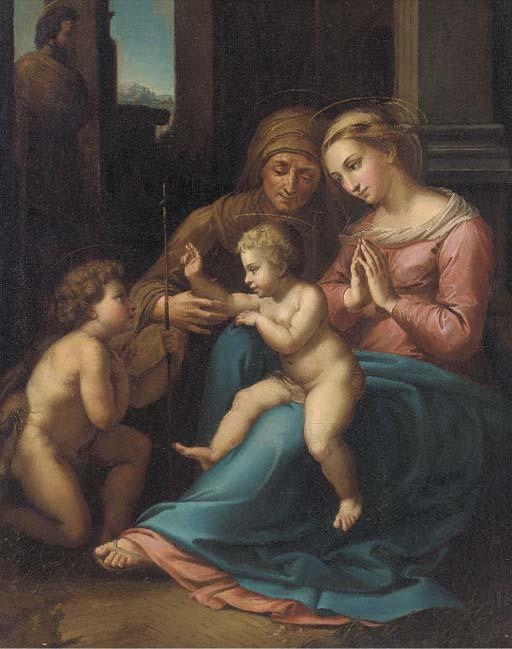After Raphael Sanzio, called R