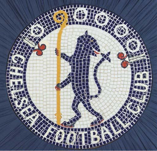 A CERAMIC MOSAIC OF THE CHELSE