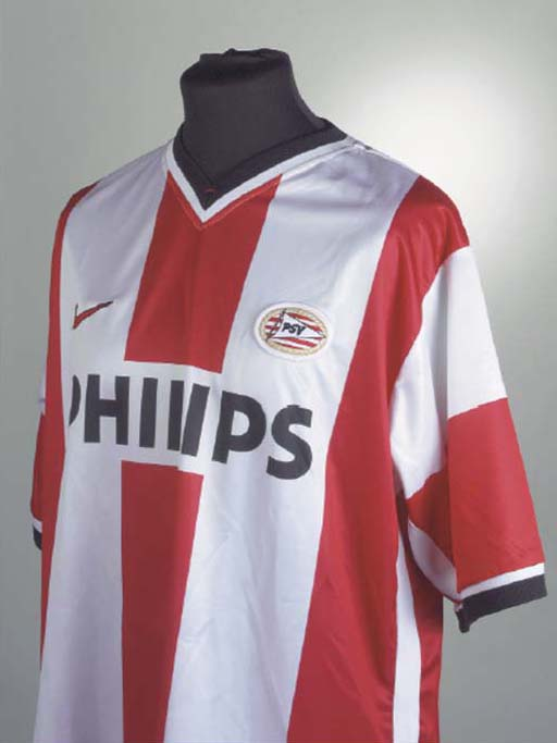 A RED AND WHITE PSV EINDHOVEN