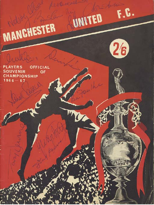 A MANCHESTER UNITED F.C. PLAYE