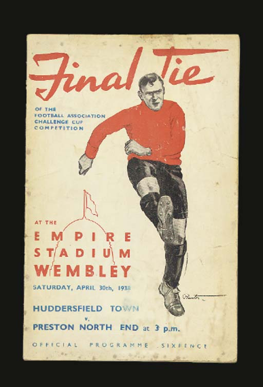 THREE F.A.CUP FINAL MATCH PROG
