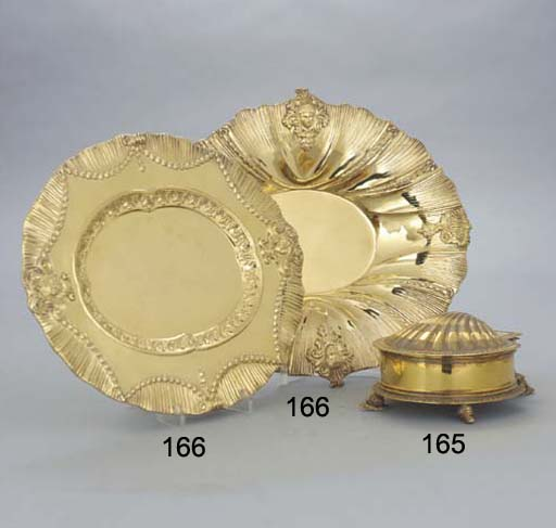 TWO EDWARDIAN SILVER DISHES