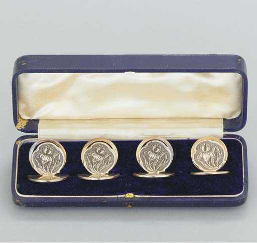 A CASED MATCHED SET OF FOUR ED