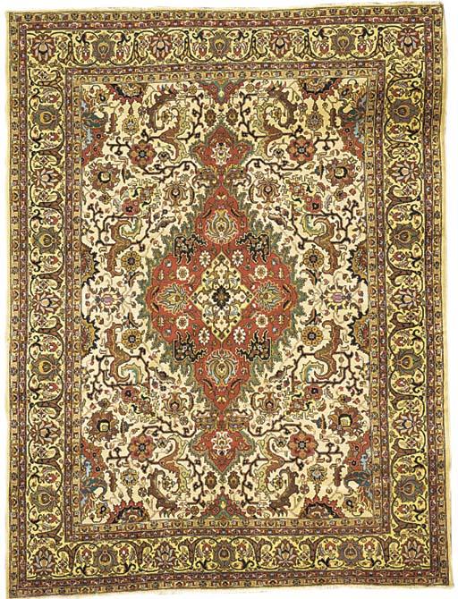 A Tabriz carpet North-West Per