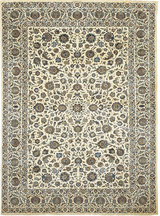 A fine Asudegar Kashan carpet,