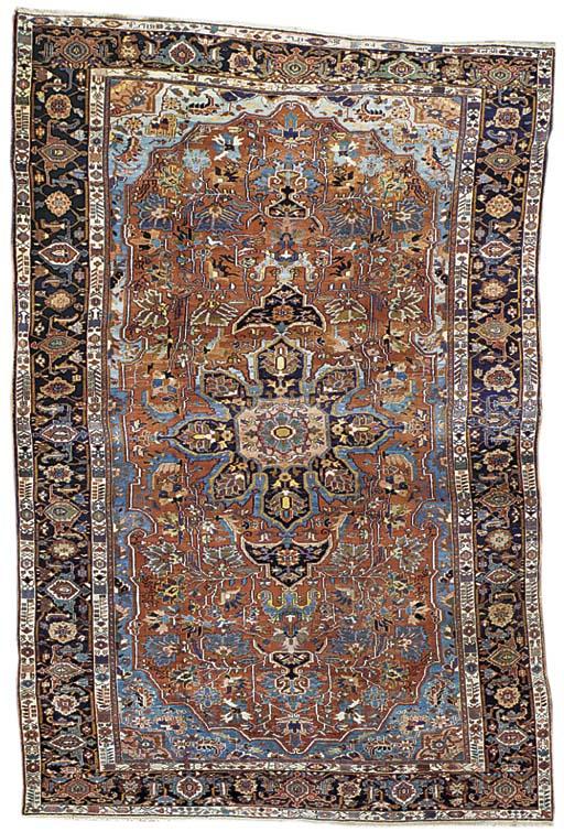 A Heriz carpet, Nort-West Pers