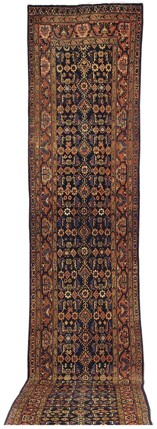 A Malayir runner, West Persia