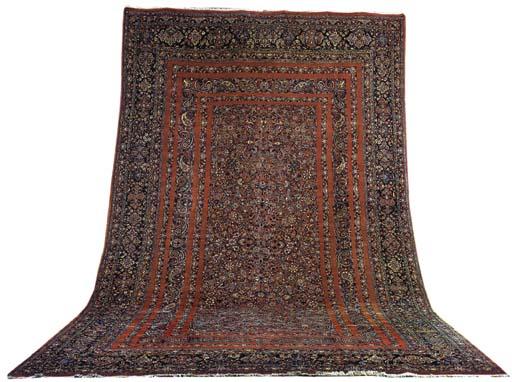 A fine Sarouk-Bijar carpet, No