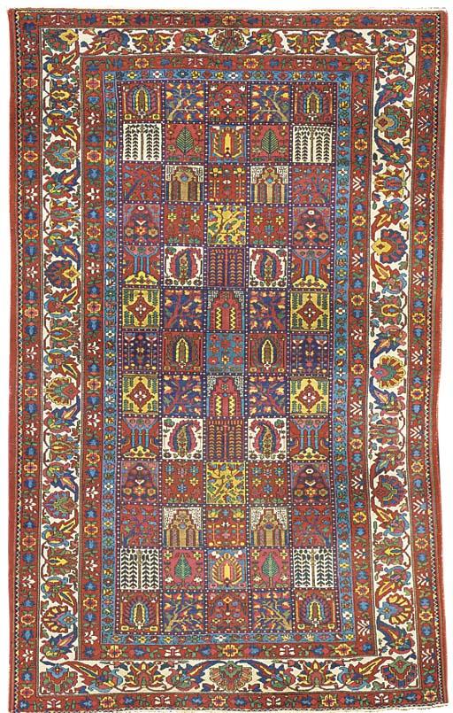 A Bakhtiari garden carpet, Wes
