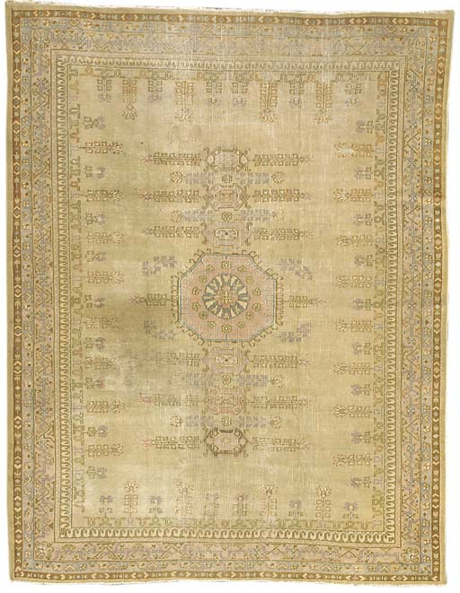 An antique Borlou carpet, Turk