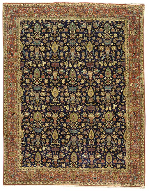 A fine Teheran carpet, North P