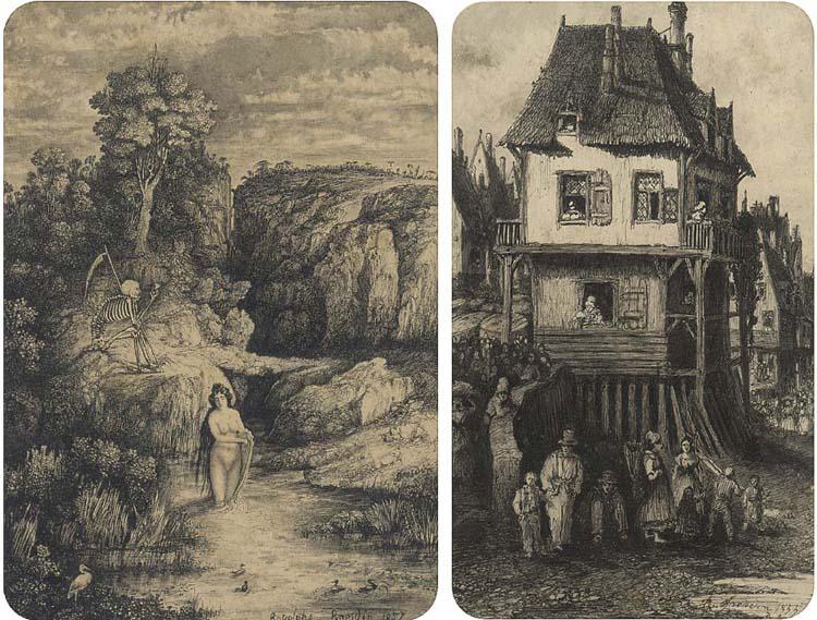 Rodolphe Bresdin (French, 1822