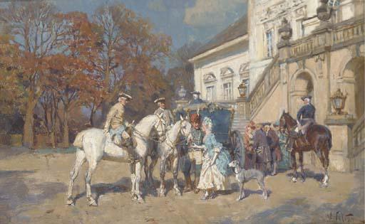 Wilhelm Velten (Russian, 1847-